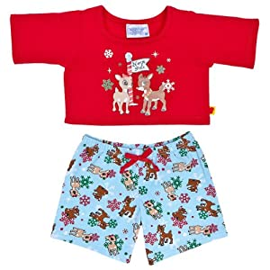 Amazon Com Build A Bear Workshop Rudolph The Red Nosed