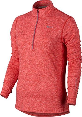 Women's Nike Dry Element Running Top Light Crimson Size Small