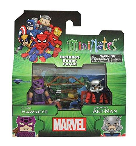 Marvel Minimates Best of Series 3 Minifigure 2-Pack <b>Classic Hawkeye & Lab Attack Ant-Man</b>