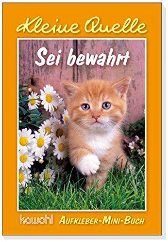 Sei gewahrt: Aufkleber-Mini-Buch, Buch
