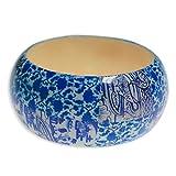 Cose di Donna® Bijoux - Bracelets Material: Bois Color: Bleu clair...