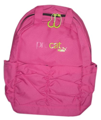 Puma Procat 2 compartment Pink Backpack with ruched front - 1