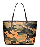026aea937ebe UPC 888235578248 product image for MICHAEL Michael Kors Small Jet Set  Travel Tote in Poppy Orange ...