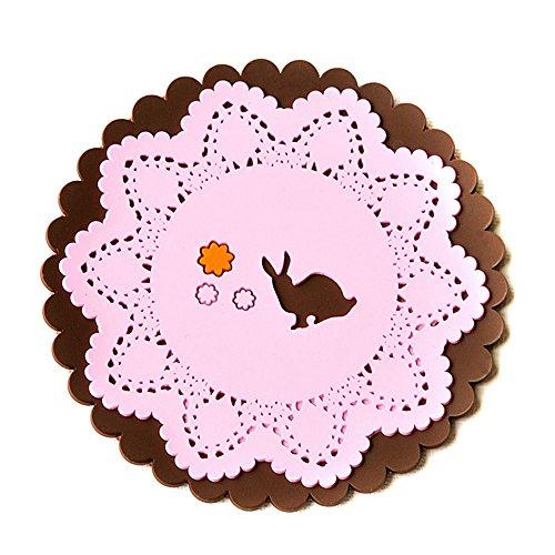 ieasycan-heat-pad-tableware-bowls-mat-insulation-pad-cute-novelty-cartoon-animals-lace-silicone-coas