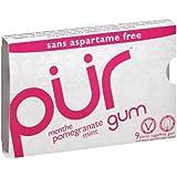 PUR Gum-Pomegranate & Mint 9 Pieces