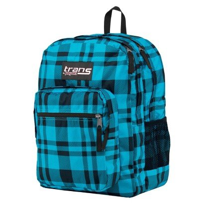 Jansport Backpack - Blue Plaid