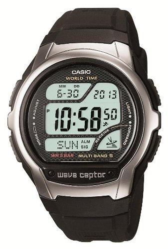 CASIO watch WAVE CEPTOR Waveceptor radio watch MULTI BAND5 model digital WV-58J-1AJF mens watch