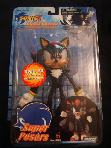 Buy Sonic X Super Posers Shadow the Hedgehog Action Figure