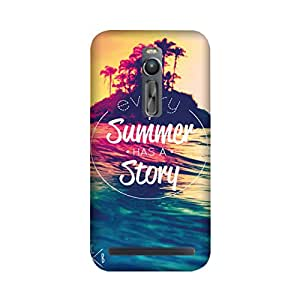 StyleO Asus Zenfone 2 Designer Printed Case & Covers (Asus Zenfone 2 Back Cover) - Summer has a Story Quote