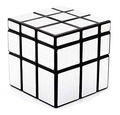 Magic Puzzle Speed Cube Silver Mirror Christmas New Year Birthday Gift - 1