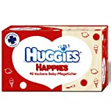 Huggies Happies trockene Baby-Pflegetücher - 90 Stück...