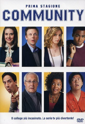 Community Stagione 01 Episodi 01-25 [Italia] [DVD]