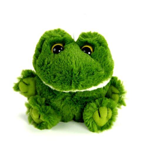 "Purr-Fection Bud Cushy Critter Frog 5"" Plush"
