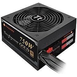 Thermaltake 750W 80 Plus Gold Semi Modular Power Supply (Black)