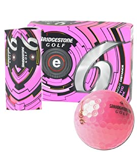Bridgestone Precept 2013 e6 Optic Pink 1-Dozen Golf Balls by Bridgestone
