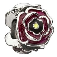 Chamilia Simply Rosy - Burgundy Bead