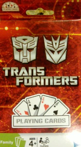 Transformers Playing Cards - 1