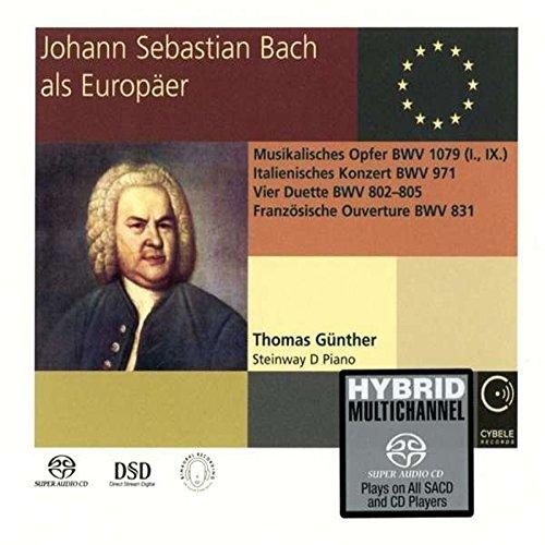 SACD : BACH,J.S. / GUNTHER,THOMAS - Johann Sebastian Bach The European