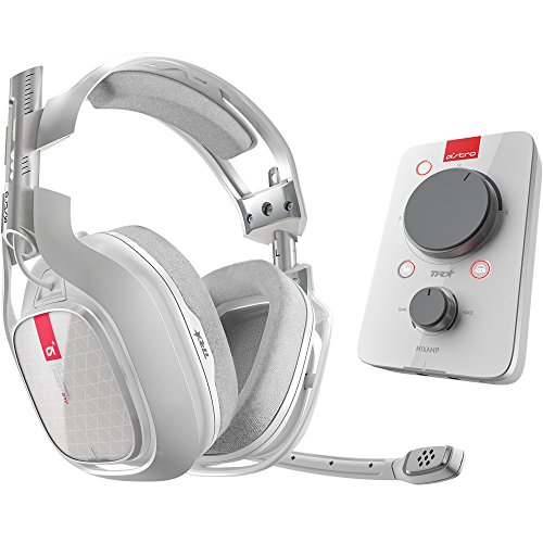 ASTRO Gaming A40 Headset + MIXAMP PRO TR (XO WHITE), Cuffie, colore: Bianco