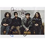 Fall Out Boy FULLY SIGNED Photo 1st Generation PRINT Ltd 150 + Certificate (1)
