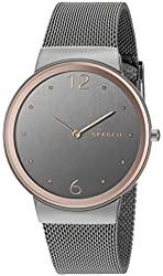 Skagen Freja Steel Mesh Watch