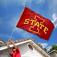Buy Iowa State Cyclones ISU University Large College Flag by College Flags and Banners Co.