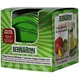 Bernardin Vintage Lids and Bands, Green Pack of 6