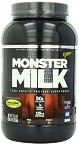 CytoSport Monster Milk, Banana Creme, 33 oz