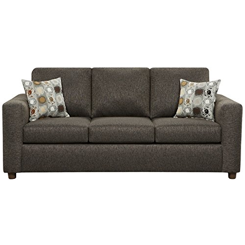 Flash Furniture Exceptional Designs Fabric Sofa, Vivid Onyx
