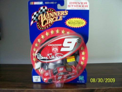 Nascar Winners Circle Driver Sticker Bill Elliott