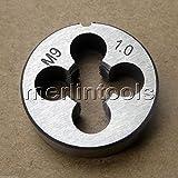 9mm x 1 Metrische Rechts-Schneideisen M9 x 1.0mm Neigung