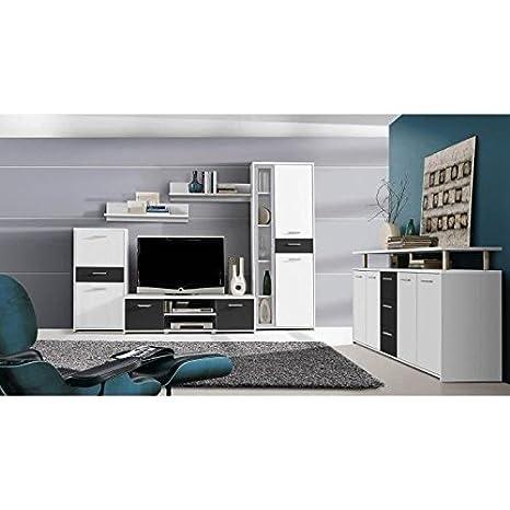 finlandek conjunto salón 2Pieces-blanco y negro