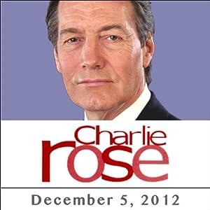 Charlie Rose: Stuart Stevens & Julianna Goldman, December 05, 2012 Radio/TV Program