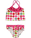 "Pink Platinum ""Cherries & Watermelon"" 2-Piece Tankini (Sizes 12M - 24M)"