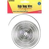 Kemper High Temp Wire 17 Gauge 10 Feet Great General Purpose Support Wire (Original Version) (Color: Original Version)