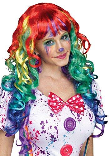 Rainbow Curlz Wig Costume Accessory