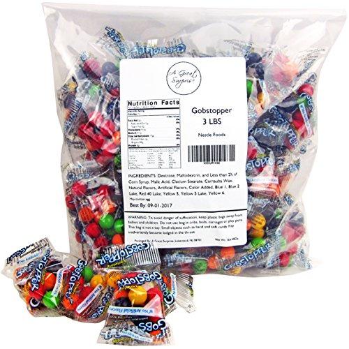 gobstoppers mini jawbreaker snack packs 3 lb bulk christmas candy - Bulk Christmas Candy