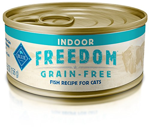 Blue Buffalo Freedom Fish Grain Free Indoor Adult Canned Cat