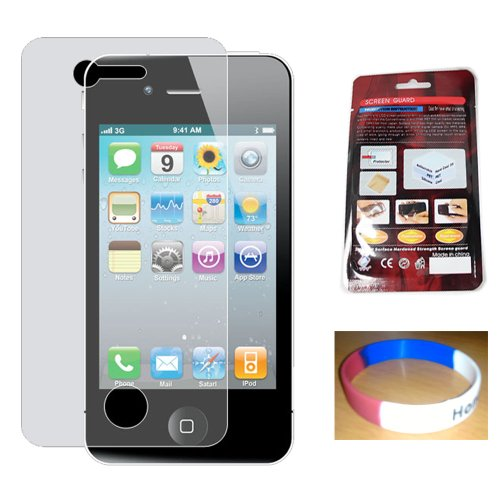 3 Pack of Front and Back iPhone Screen Protector