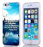 Cell Phones Accessories Best Deals - Iphone 6S Case Christian Quotes, Apple Iphone 6S Case Bible Verses Psalm 62:6