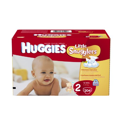 Huggies Little Snugglers Diapers Economy