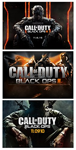"CGC grande Poster ""Call of Duty Black Ops II-I e II 360, PS3, PS4, XBOX ONE, CODSET1, Carta, 24"" x 36"" (61cm x 91.5cm)"
