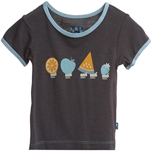 KicKee Pants Print Tee (Toddler/Kid) - Picnic Ants-6