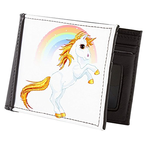 Royal-Lion-Mens-Wallet-Billfold-Rainbow-Sparkle-Unicorn