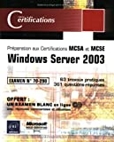 echange, troc Collectif - Windows Server 2003 - examen 70-290
