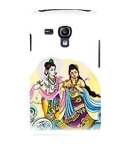 printtech Radha Krishna Beautiful Back Case Cover for Samsung Galaxy S3 Mini::Samsung Galaxy S3 Mini i8190