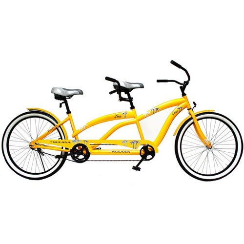 "Best Buy! Kulana Lua 26"" Tandem Comfort Cruiser Bike"