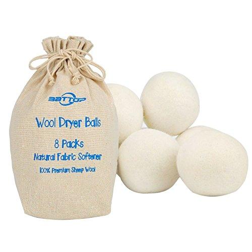 battop-xl-laundry-dryer-balls-ammorbidente-naturale-organico-lana-palla-eco-friendly-riutilizzabili-