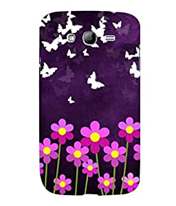printtech Butterfly Flowers Back Case Cover for Samsung Galaxy Grand Neo::Samsung Galaxy Grand Neo i9060