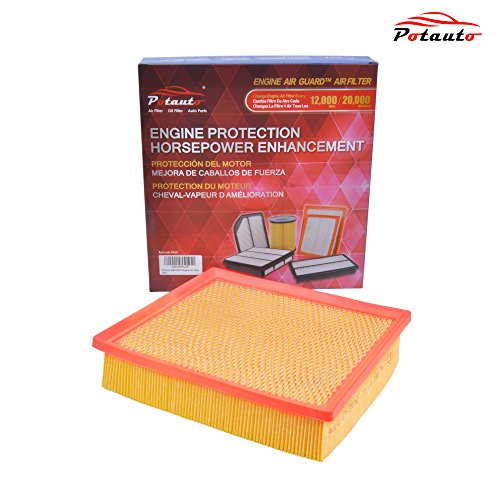 POTAUTO MAP 6032 Engine Air Guard Filter Replacement for LEXUS, TOYOTA